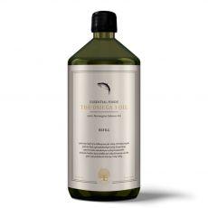 ESSENTIALFOODS Omega 3 Oil - 100% lososový olej, 1 l