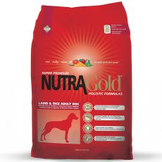 NUTRA GOLD HOLISTIC Adult Lamb & Rice 15kg