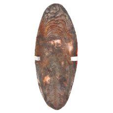 Sépiová kost s držákem pro ptáky - čokoládová příchuť, 12 cm