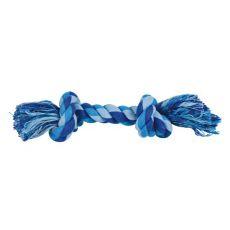 Bavlněné lano s uzly - hračka pro psa, 22 cm