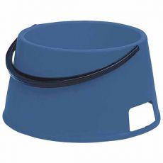Miska pro psa s držadlem BUFFET 7 - plastová, modrá - 7 l