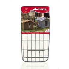 Dvířka Porta 3 na boudu pro psa, kovová - 37,5 x 21,5 cm