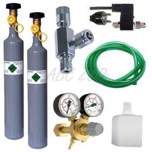 CO2 profesional set s emg. ventilem + náhradní láhev 500 g