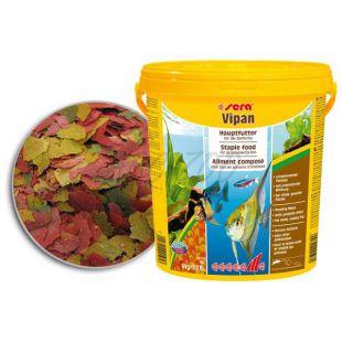 sera Vipan krmivo pro ryby - velké vločky, 2kg