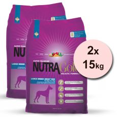 NUTRA GOLD HOLISTIC Large Breed Adult 2 x 15 kg