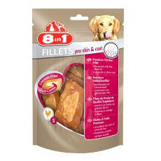 Filety 8 in 1 PRO SKIN AND COAT pro psy - 80 g