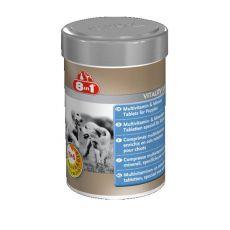 Vitamíny pro štěňata 8 in 1 VITALITY JUNIOR - 100 tbl