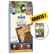 Bosch ADULT Fish & Potato 15 kg + 3kg ZDARMA