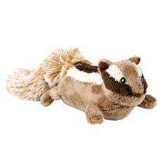 Plyšová hračka pro psa - veveruška, 28 cm