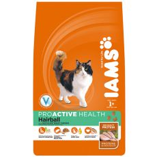 IAMS Hairball Control rich in Chicken - 2,55 kg