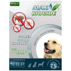 MAX BIOCIDE Antiparazitní obojek pro velké psy- 75 cm