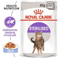 Royal Canin STERILISED in Jelly 85g - želé v kapsičce