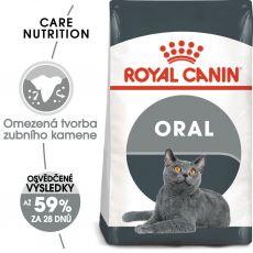 ROYAL CANIN Oral Care granule pro kočky snižující tvorbu zubního kamene 8 kg