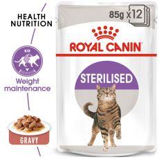 Royal Canin STERILISED 12 x 85 g - kapsička