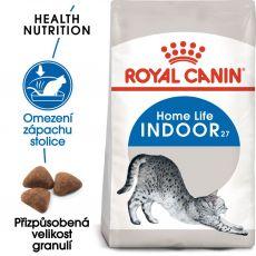 Royal Canin INDOOR 27 - krmivo pro kočky žijící v interiéru 4kg