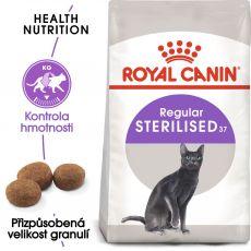 Royal Canin STERILISED 37 - pro kastrované kočky, 400 g